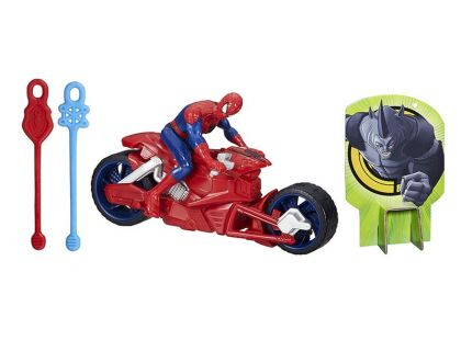 Hasbro Spiderman Akční figurka se závodním vozidlem - Spiderman