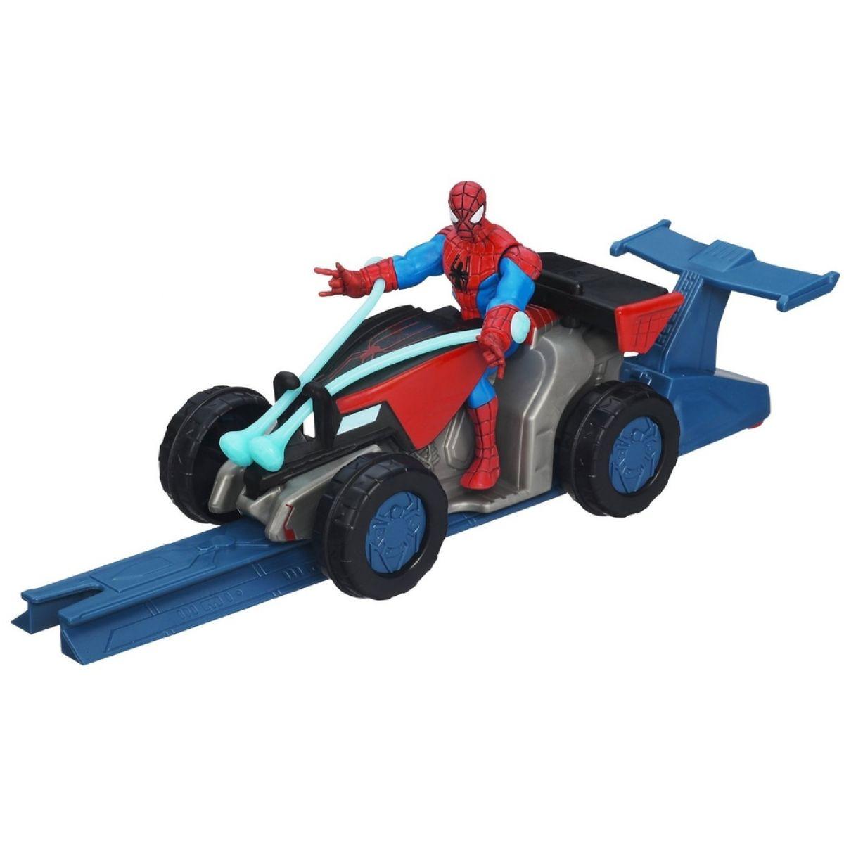 Hasbro Spiderman Akční vystřelovací vozidla - ATV Racer