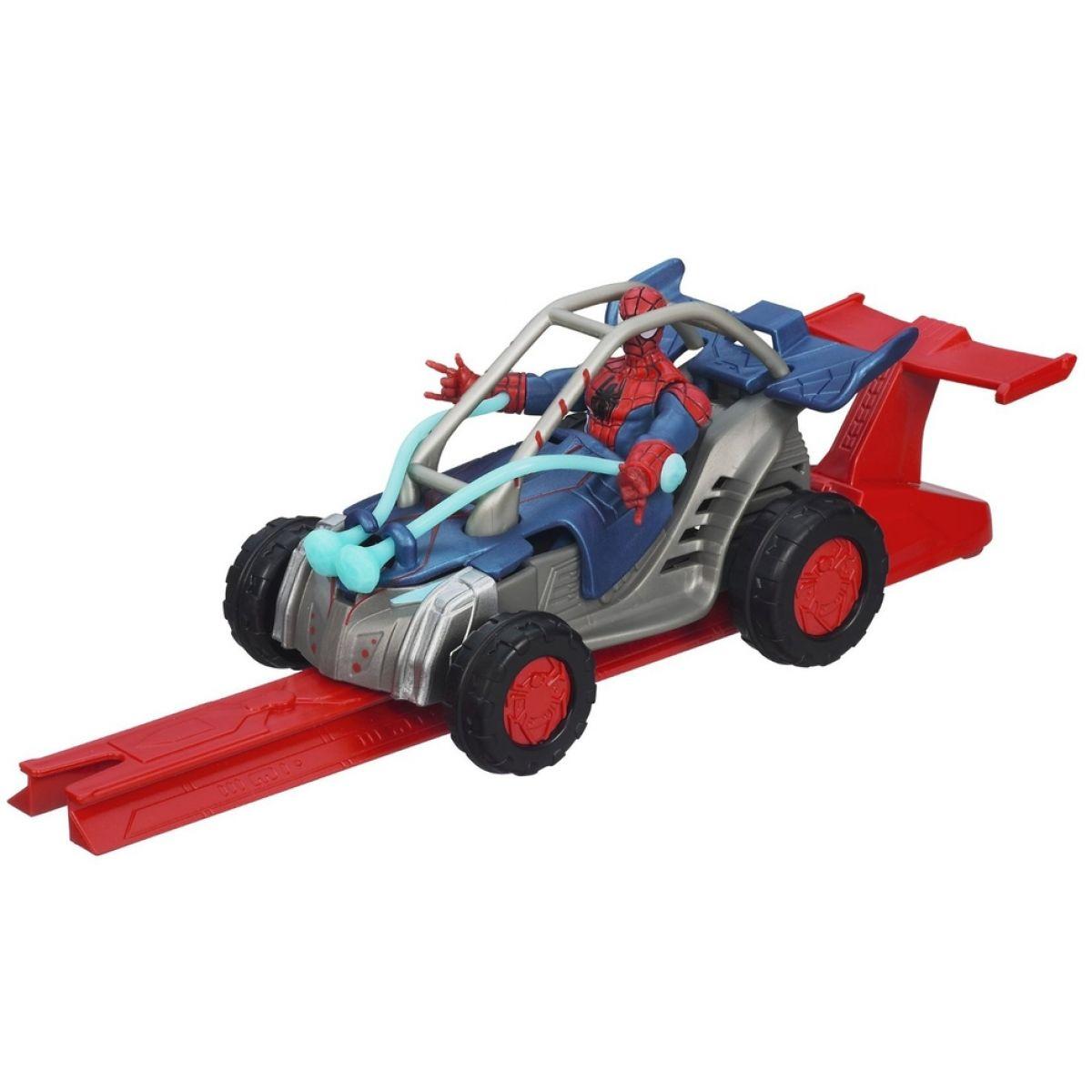 Hasbro Spiderman Akční vystřelovací vozidla - Turbo Cruiser