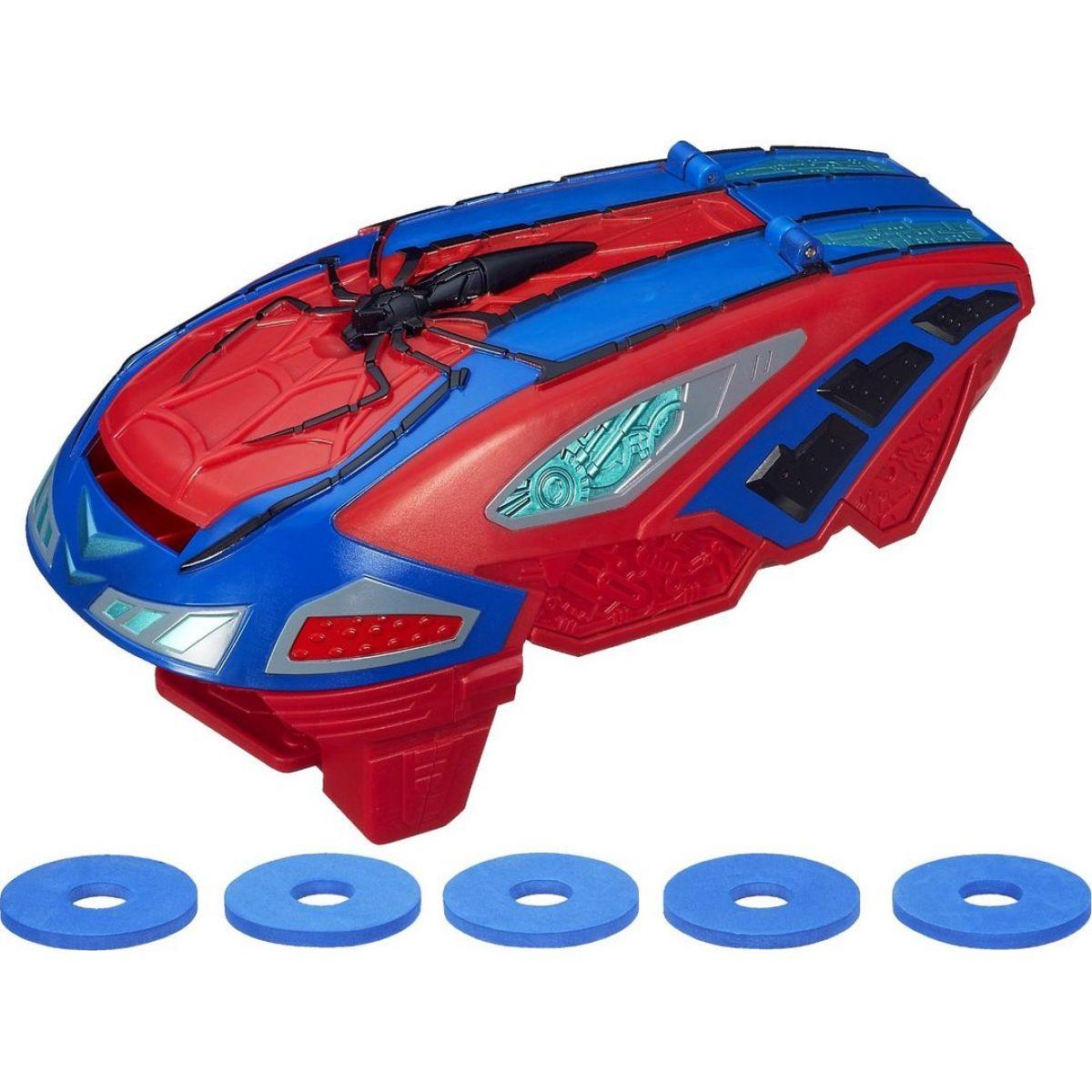 Hasbro Spiderman Vystřelovač disků