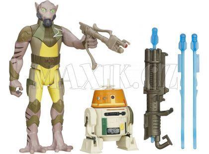 Hasbro Star Wars Epizoda 7 Dvojbalení figurek - Garazeb Orrelios a C1-10P Chopper