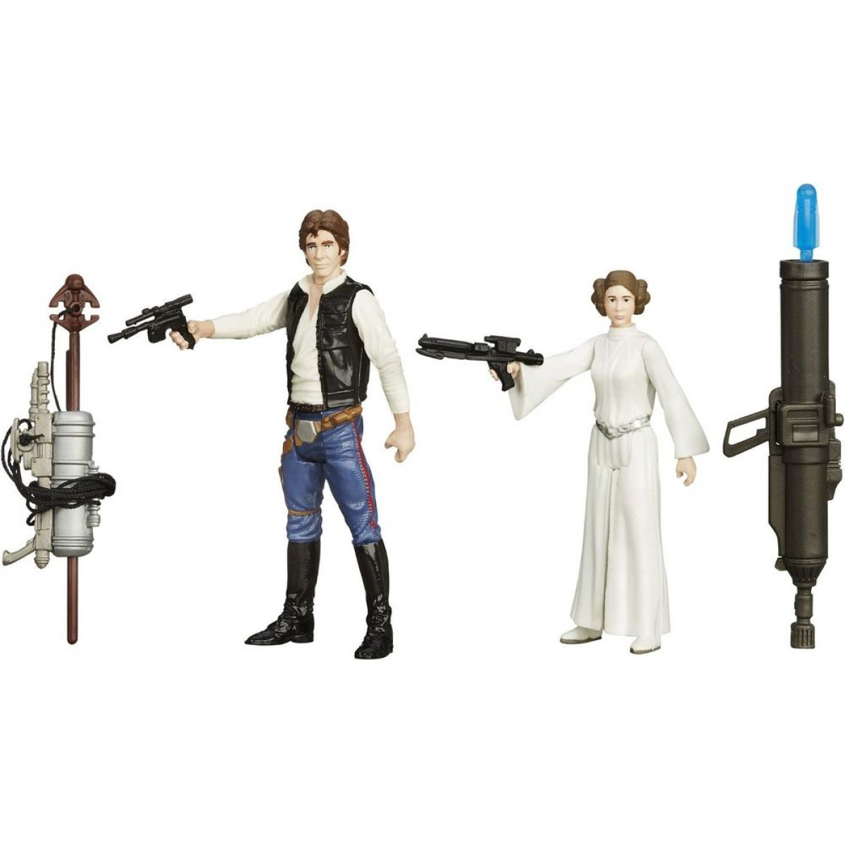 Hasbro Star Wars Epizoda 7 Dvojbalení figurek - Han Solo a Princess Leia