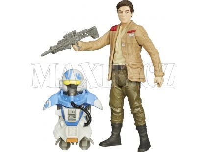 Hasbro Star Wars Epizoda 7 Obrněná figurka - Poe Dameron