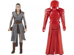 Hasbro Star Wars Force Link Dvě deluxe figurky 9,5 cm Rey a Elite Praetorian Guard
