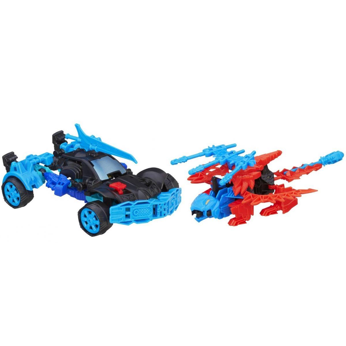 Hasbro Transformers 4 Construct Bots Autobot Drift a Rougneck Dino #2