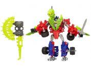 Hasbro Transformers 4 Construct Bots Optimus Prime  a Gnaw Dino