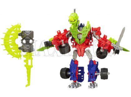 Hasbro Transformers 4 Construct Bots Transformer se zvířetem - Optimus Prime a Gnaw Dino