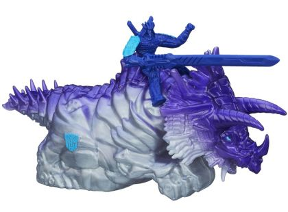 Hasbro Transformers 4 Transformeři na zvířatech - Autobot Drift a Dinobot Slug
