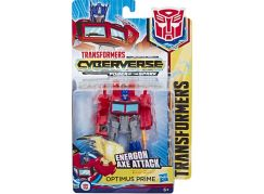 Hasbro Transformers Action attacker 15 Optimus Prime Energon Axe Attack