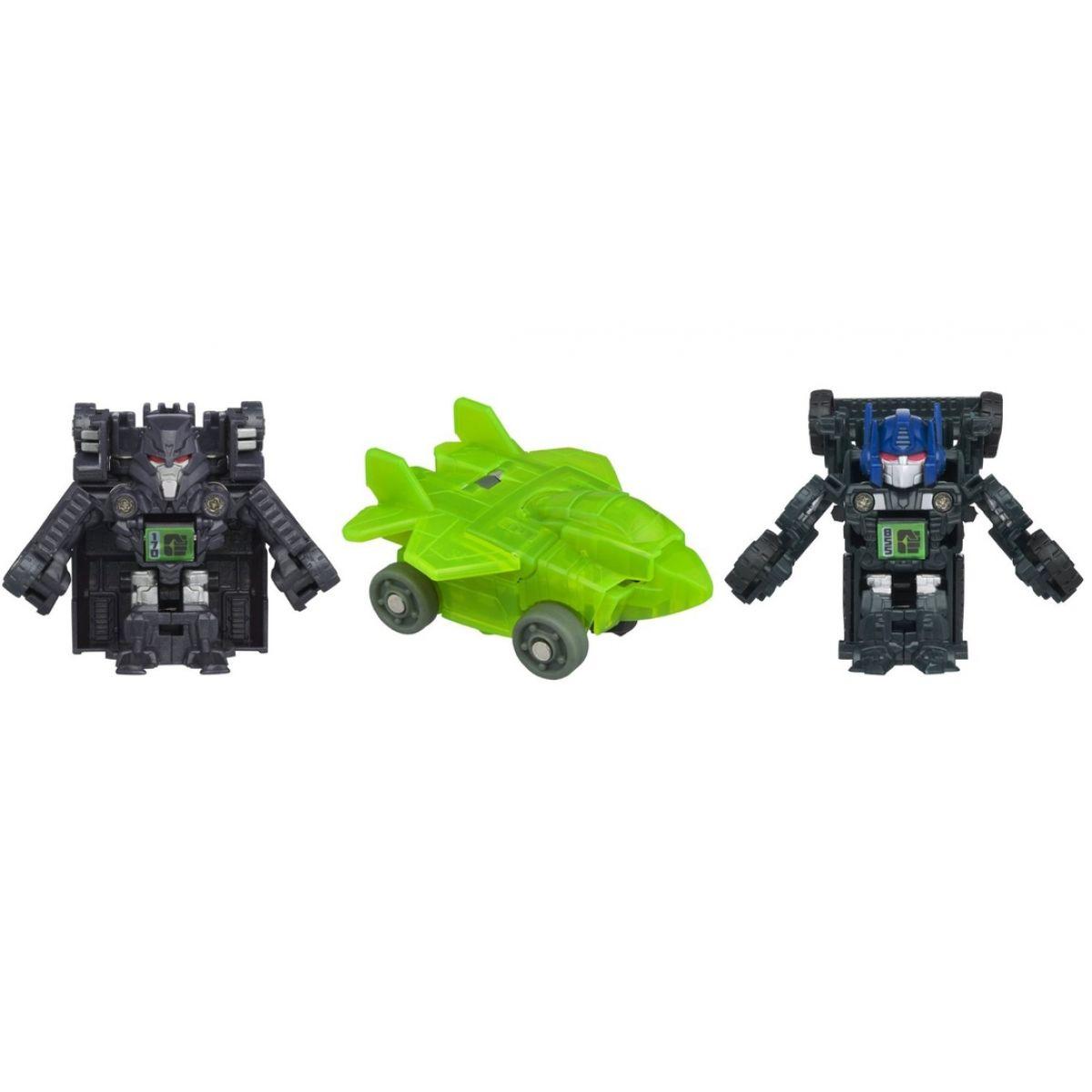 Hasbro Transformers Bot Shots 3 transformeři - NemesisPrime Megatron AcidStor