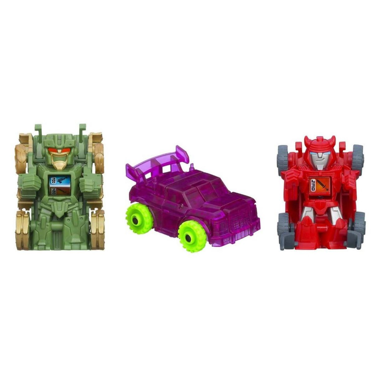 Hasbro Transformers Bot Shots 3pack - Cliffjumper Brawl Boss