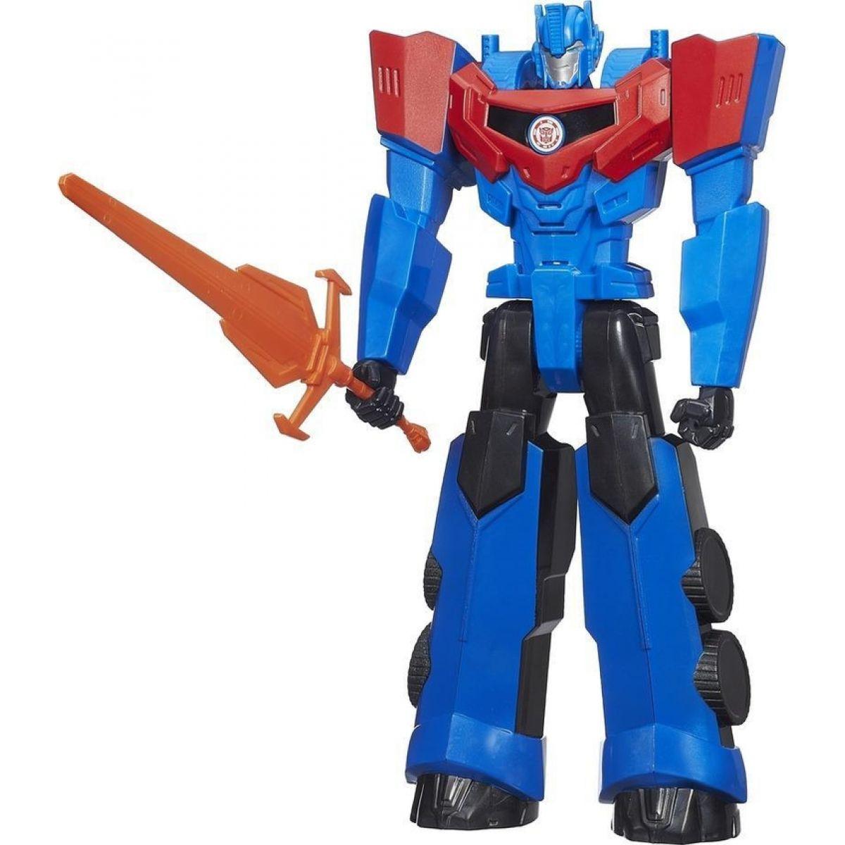 Hasbro Transformers Pohyblivý Transformer 30cm se zvuky - Optimus Prime