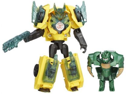 Hasbro Transformers Rid Transformer a Minicon - Bumblebee vs. Major Mayhem