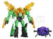 Hasbro Transformers Rid Transformer a Minicon - Gimlock vs. Decepticon Back