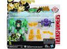 Hasbro Transformers Rid Transformer a Minicon - Gimlock vs. Decepticon Back 3
