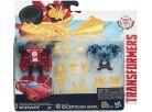 Hasbro Transformers Rid Transformer a Minicon - Sideswipe vs. Decepticon Anvil 2