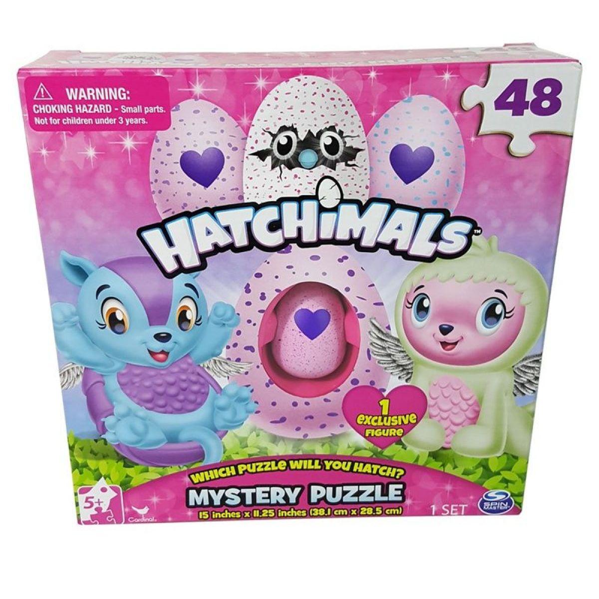 Hatchimals puzzle 48ks s exclusive zvířátkem