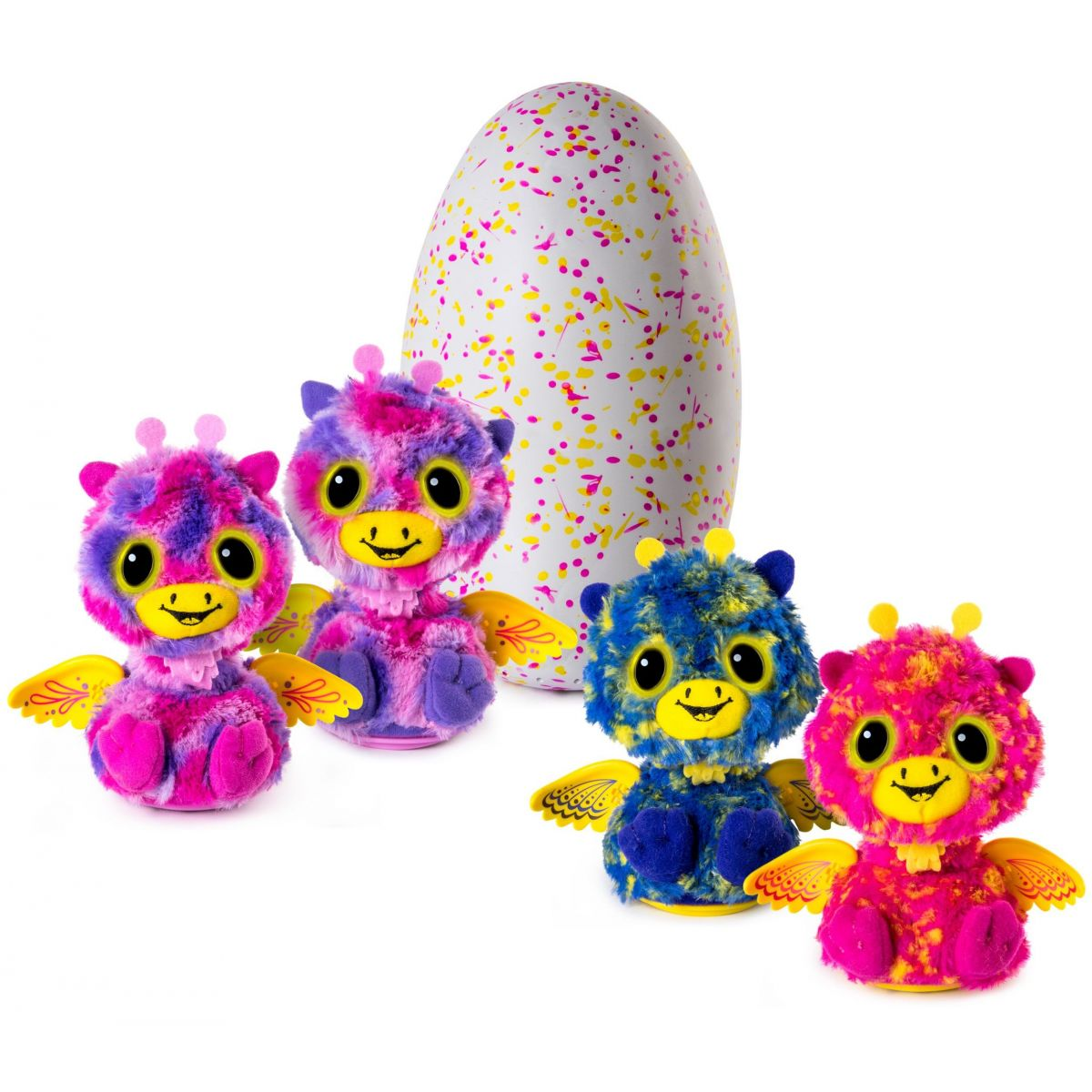 Hatchimals surprise dvojčata žirafky