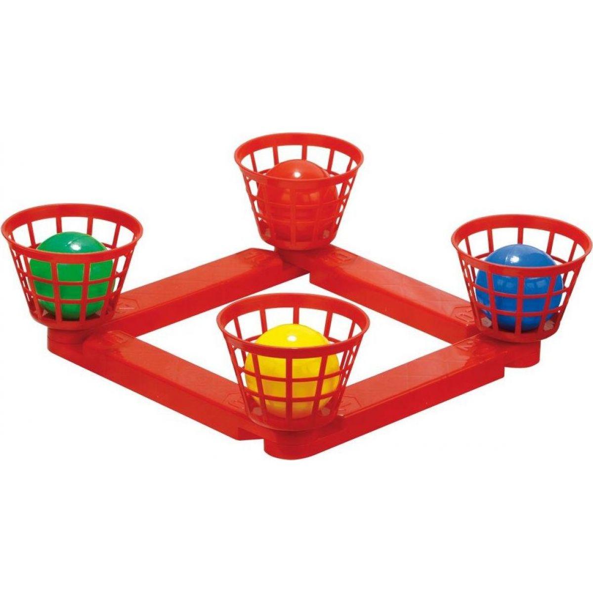 Házecí míčky do košíku plastové