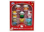 Hello Kitty a přátelé 8 figurek