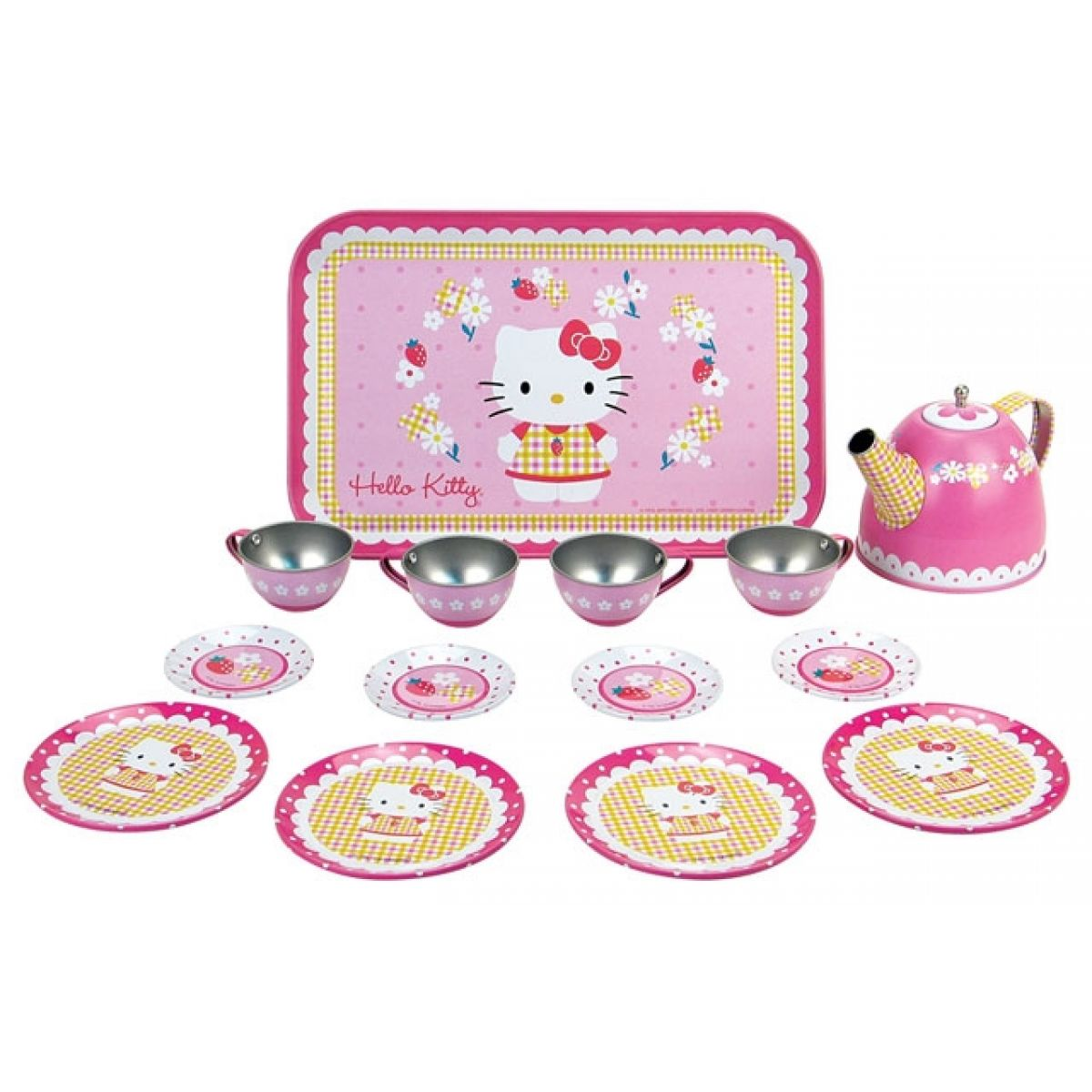 Hello Kitty čajový set, 14 doplňků
