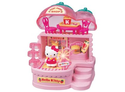 Hello Kitty fast food/cukrárna