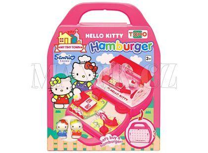 Hello Kitty Mini město v kufříku