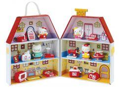 Hello Kitty Papírový domeček