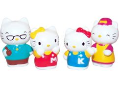Hello Kitty sada 4 figurek
