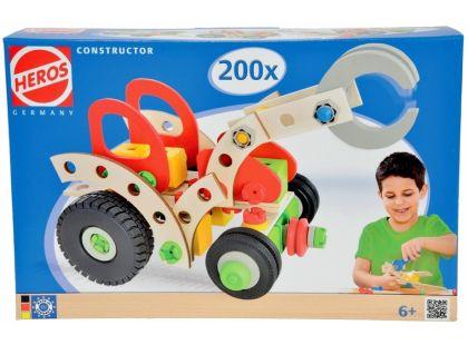 Heros Constructor Traktor 200 dílů