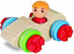 Heros Dřevěný Constructor Maxi Závodník