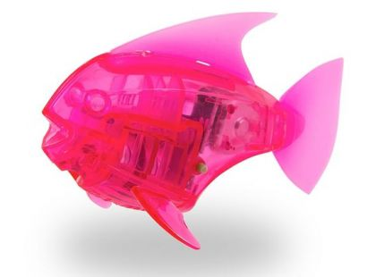 Hexbug Aquabot Led - Piraňa růžová