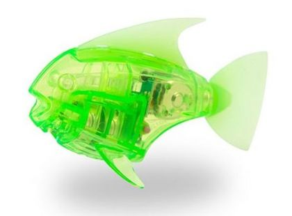Hexbug Aquabot Led - Piraňa zelená