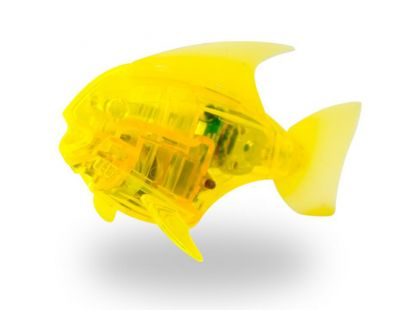 Hexbug Aquabot Led - Piraňa žlutá
