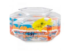 Hexbug Aquabot Led s akváriem - Piraňa žlutá