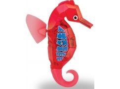 Hexbug Aquabot Mořský koník s akváriem - červený