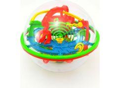 Hlavolam Bludiště 3D koule 138 kroků