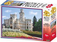 HM Studio 3D puzzle ČR Zámek Hluboká 1000 KS