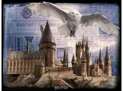 HM Studio 3D puzzle Harry Potter Bradavice a Hedwig 300 ks