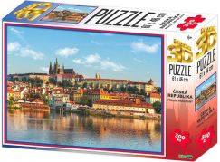 HM Studio 3D puzzle Praha Hradčany 300 KS