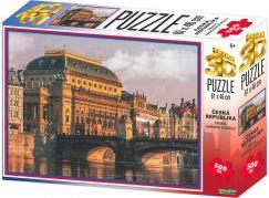 HM Studio 3D puzzle Praha Národní divadlo 500 KS