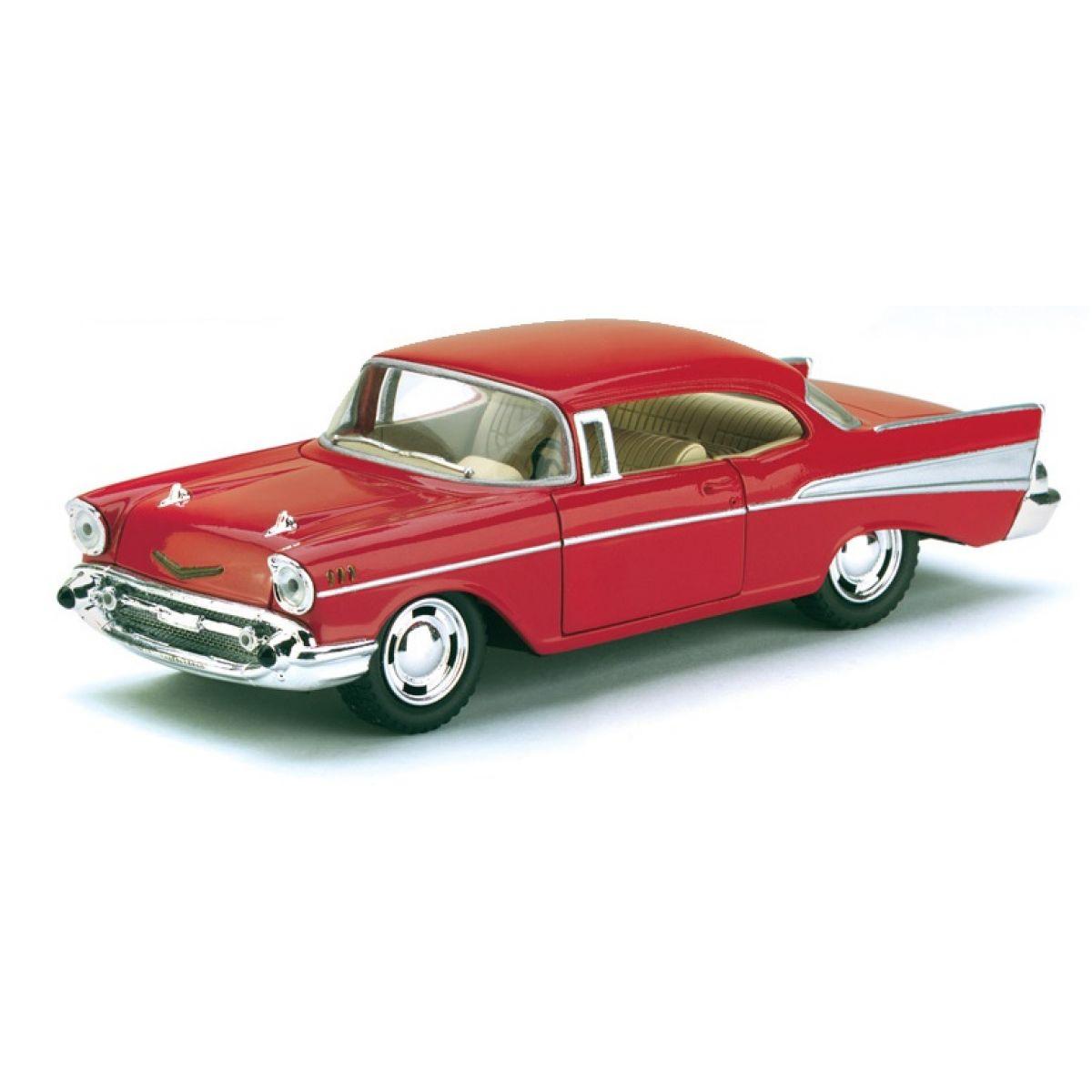 HM Studio Auto Chevrolet Bel Air 1957 - Červená