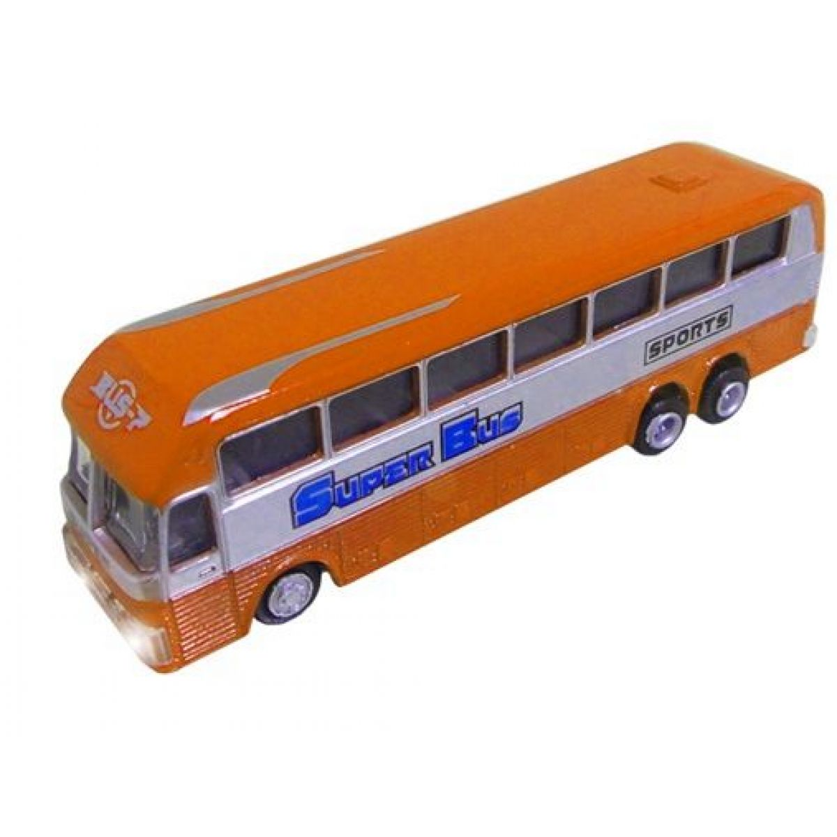 HM Studio Autobus 14 cm - Oranžová