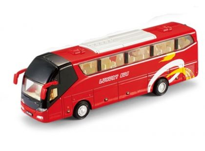 HM Studio Autobus 19 cm - Červená