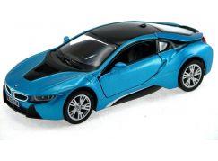 HM Studio BMW i8 1:36 modrý