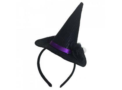 HM Studio Čelenka s kloboukem čarodějnice