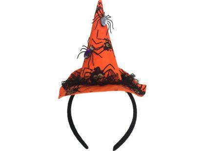 HM Studio Čelenka s kloboukem malá čarodějnice