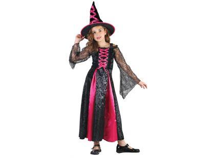 HM Studio Dětský kostým Čarodějka 130 - 140 cm