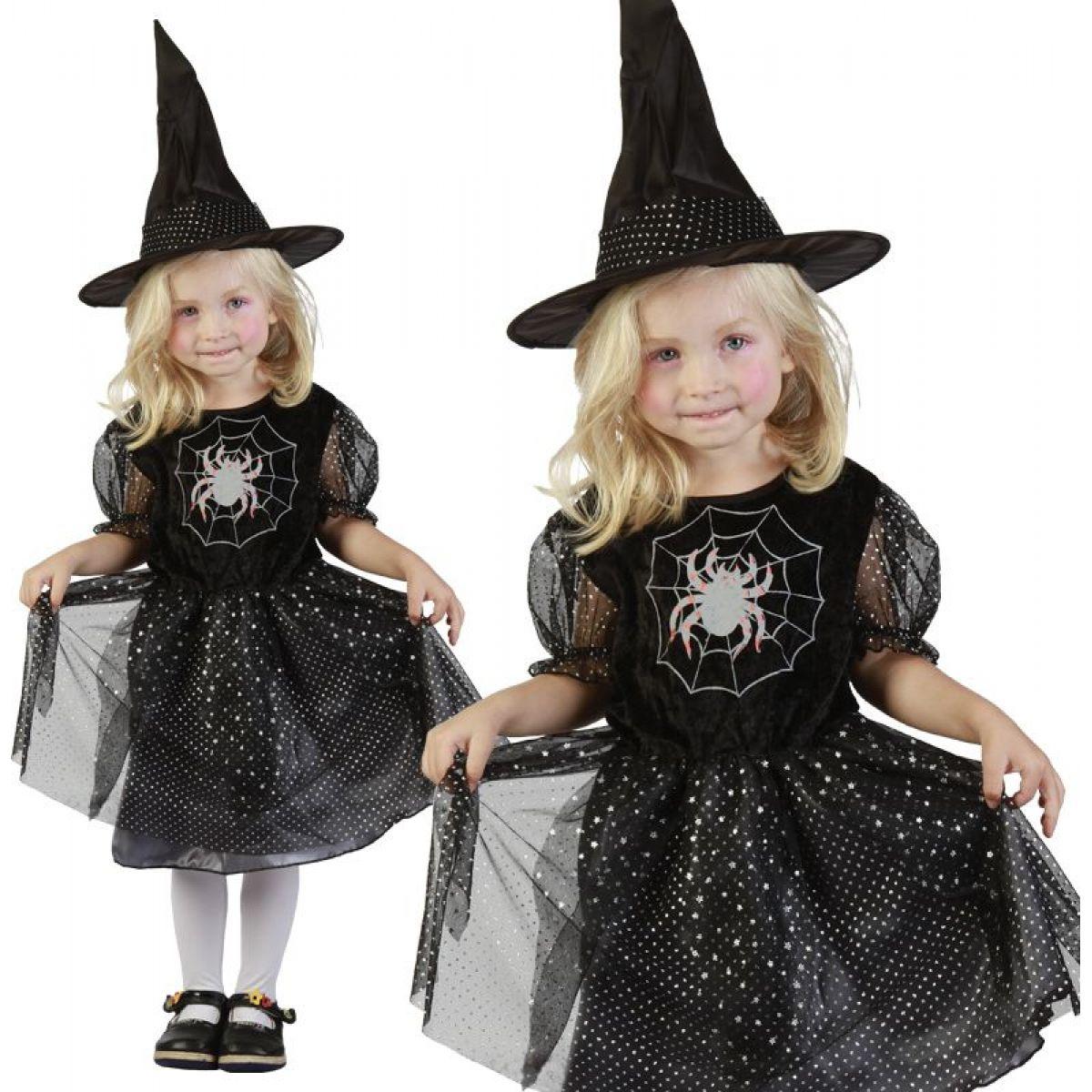 HM Studio Dětský kostým Čarodějka 92 - 104 cm