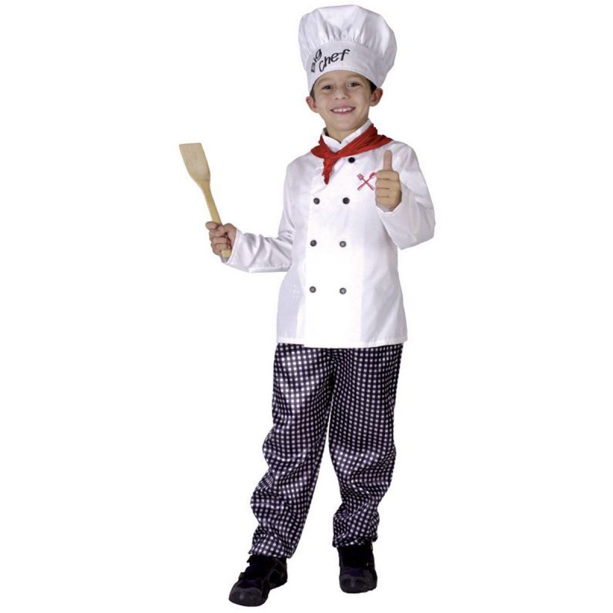 HM Studio Dětský kostým kuchař, 110-120 cm